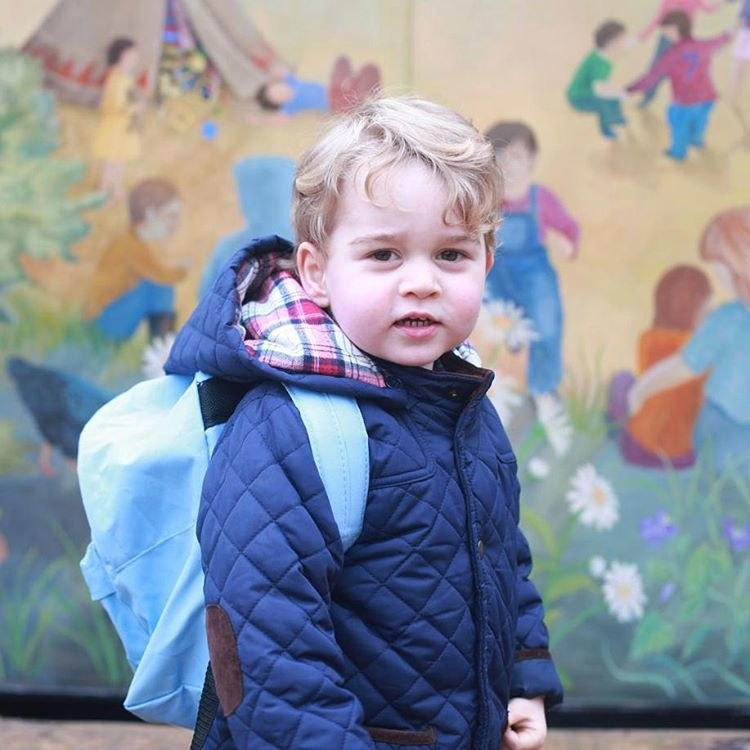 prince-george-first-day-of-school