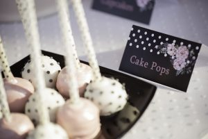 cozy fairytales polka dot christening